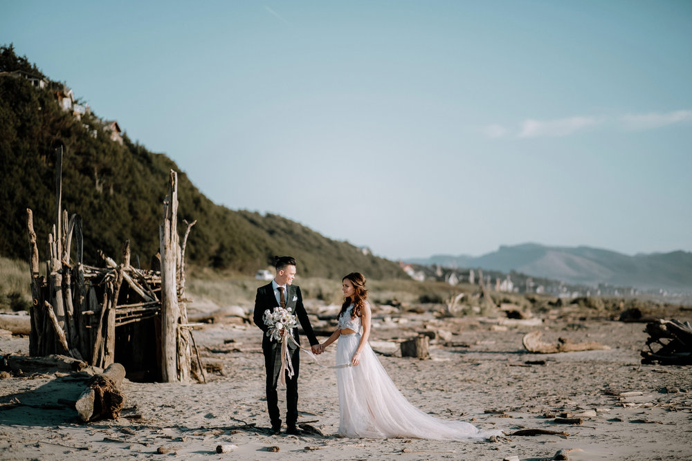 Best Places to Elope In Oregon- Manzanita Beach (4).jpg