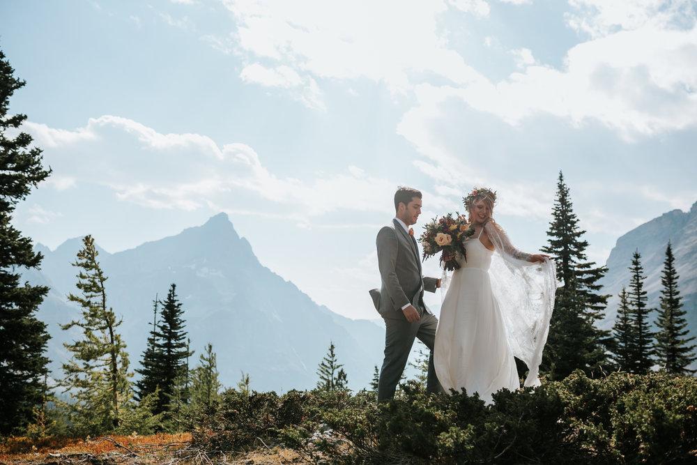 Banff National Park, Alberta Canada Elopement - Grace and Jaden Photography (102).jpg