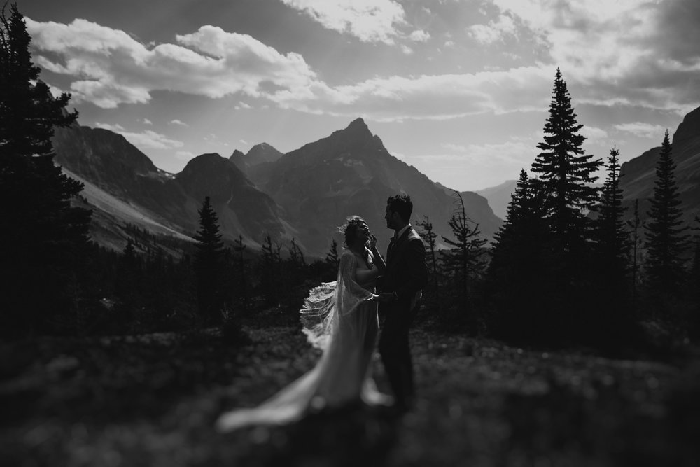 Banff National Park, Alberta Canada Elopement - Grace and Jaden Photography (105).jpg