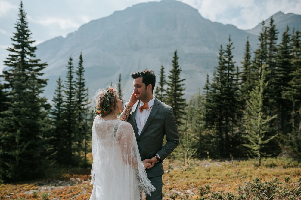Banff National Park, Alberta Canada Elopement - Grace and Jaden Photography (106).jpg