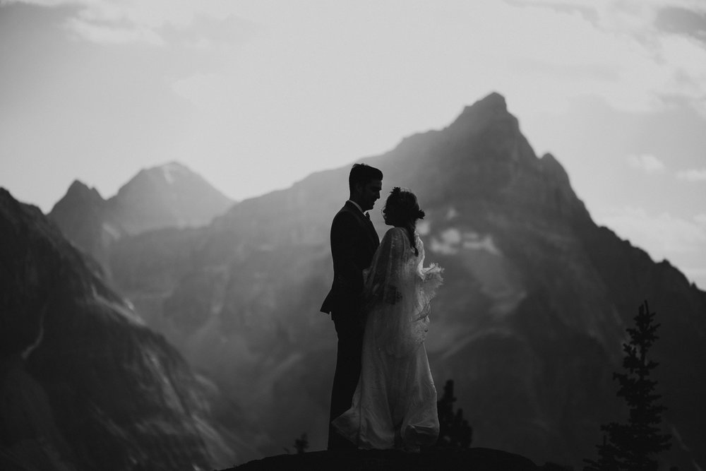 Banff National Park, Alberta Canada Elopement - Grace and Jaden Photography (117).jpg