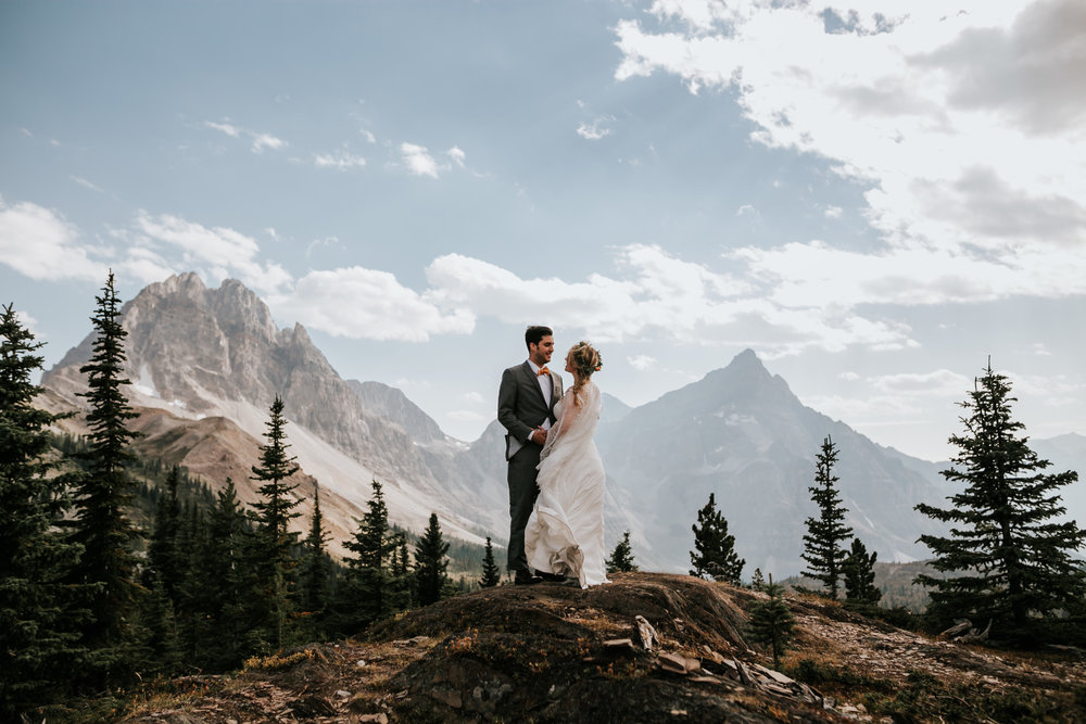 Banff National Park, Alberta Canada Elopement - Grace and Jaden Photography (116).jpg