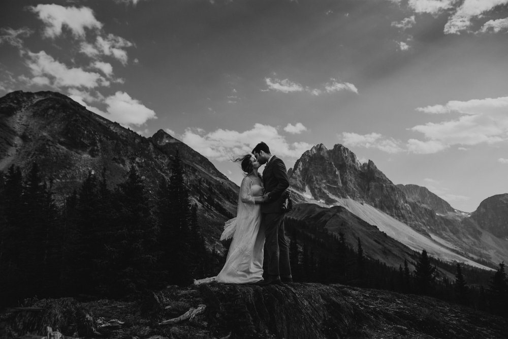 Banff National Park, Alberta Canada Elopement - Grace and Jaden Photography (120).jpg
