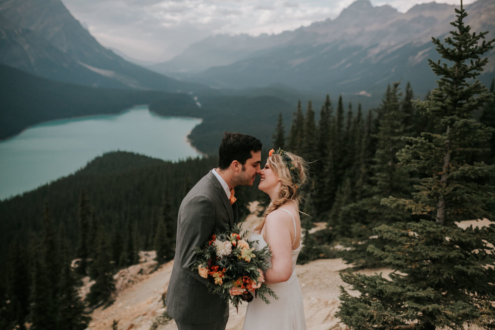 Banff National Park, Alberta Canada Elopement - Grace and Jaden Photography (130).jpg