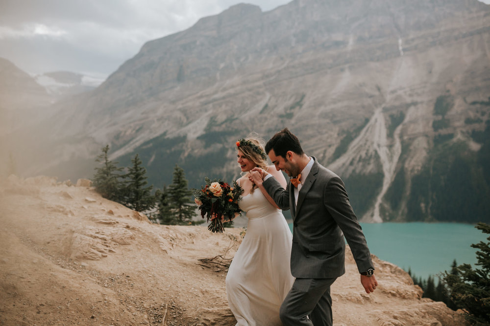 Banff National Park, Alberta Canada Elopement - Grace and Jaden Photography (133).jpg