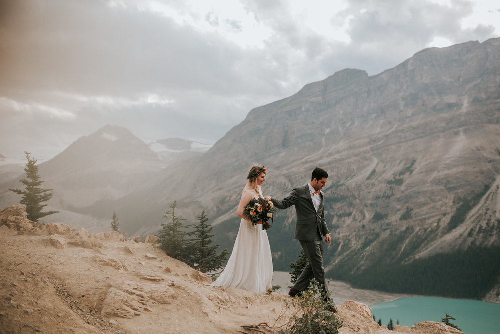 Banff National Park, Alberta Canada Elopement - Grace and Jaden Photography (134).jpg