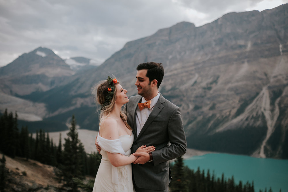 Banff National Park, Alberta Canada Elopement - Grace and Jaden Photography (137).jpg