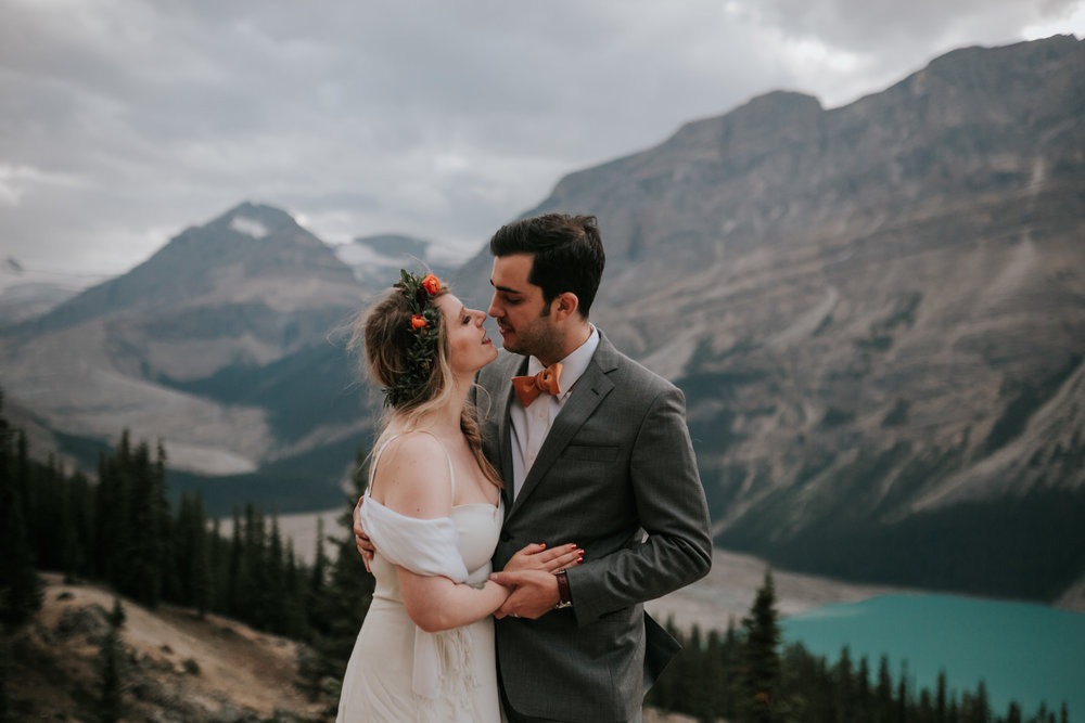 Banff National Park, Alberta Canada Elopement - Grace and Jaden Photography (138).jpg