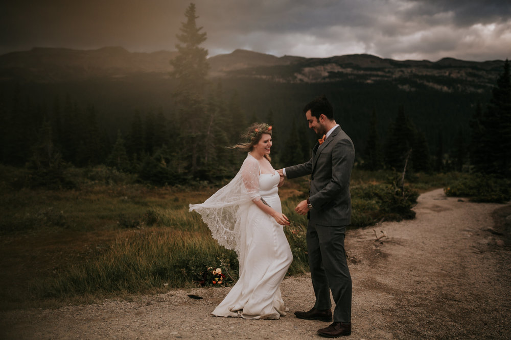Banff National Park, Alberta Canada Elopement - Grace and Jaden Photography (146).jpg