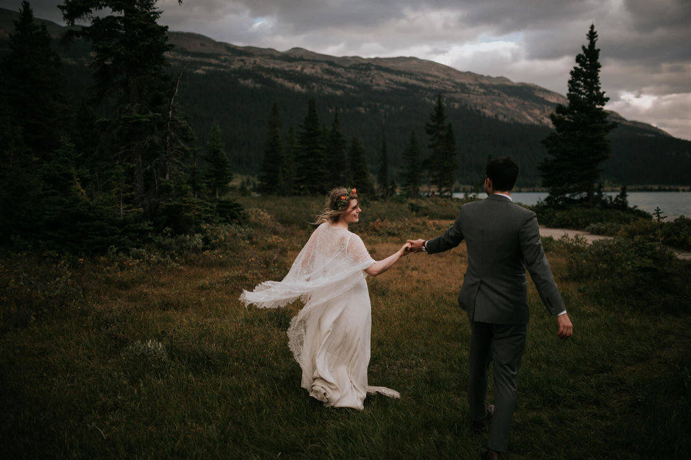 Banff National Park, Alberta Canada Elopement - Grace and Jaden Photography (147).jpg