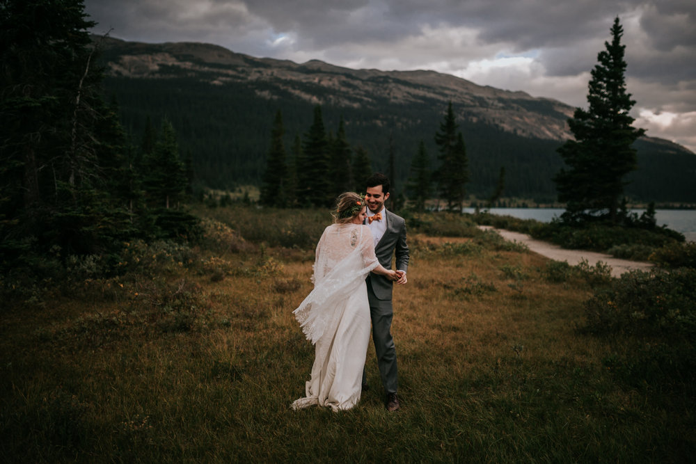 Banff National Park, Alberta Canada Elopement - Grace and Jaden Photography (149).jpg