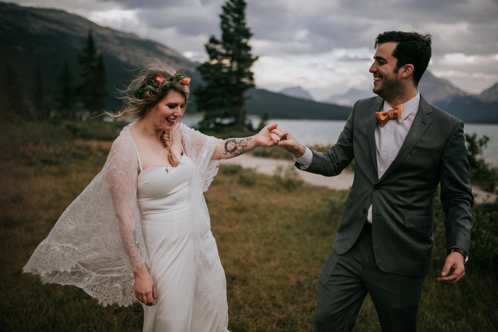 Banff National Park, Alberta Canada Elopement - Grace and Jaden Photography (150).jpg