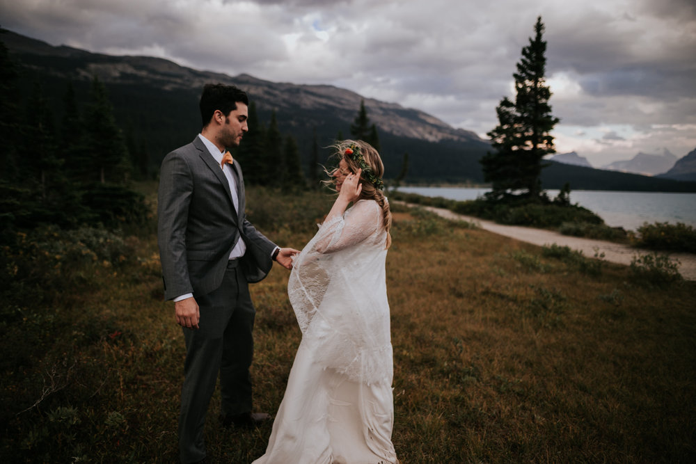 Banff National Park, Alberta Canada Elopement - Grace and Jaden Photography (153).jpg