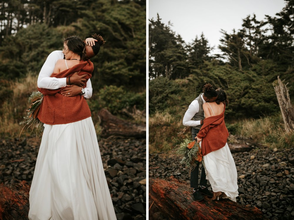 Hug Point Oregon Elopement- Cannon Beach- Grace and Jaden Photography (11).jpg