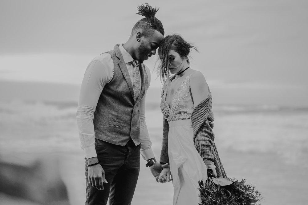 Hug Point Oregon Elopement- Cannon Beach- Grace and Jaden Photography (14).jpg