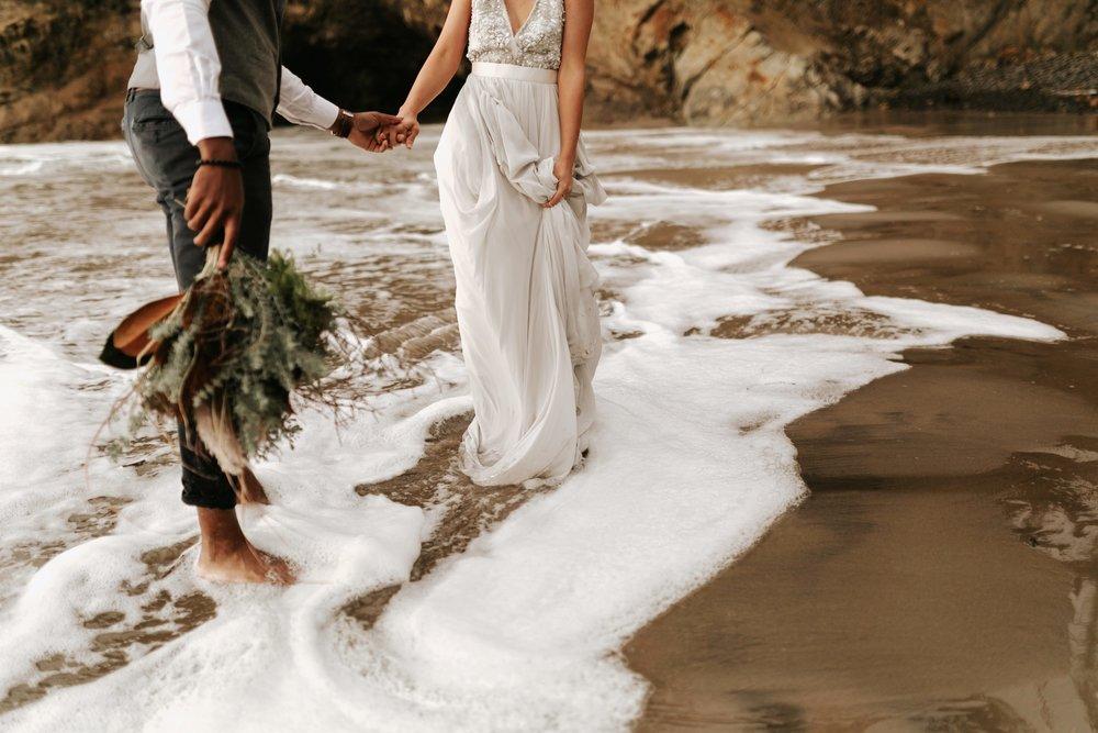 Hug Point Oregon Elopement- Cannon Beach- Grace and Jaden Photography (30).jpg