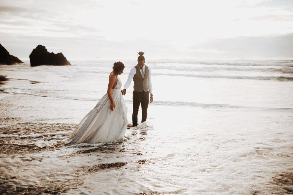 Hug Point Oregon Elopement- Cannon Beach- Grace and Jaden Photography (41).jpg