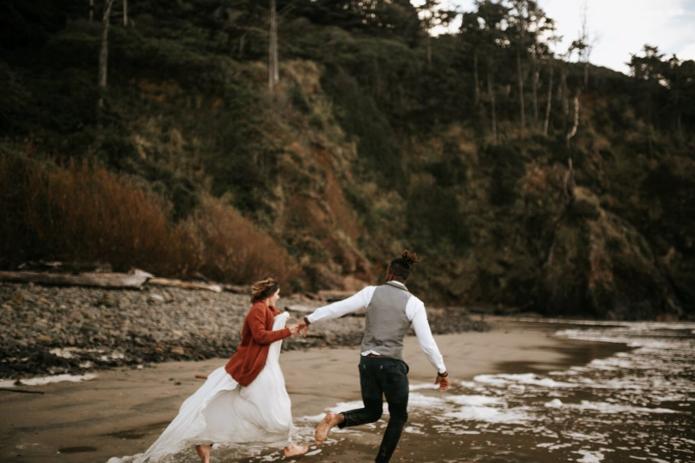 Hug Point Oregon Elopement- Cannon Beach- Grace and Jaden Photography (52).jpg