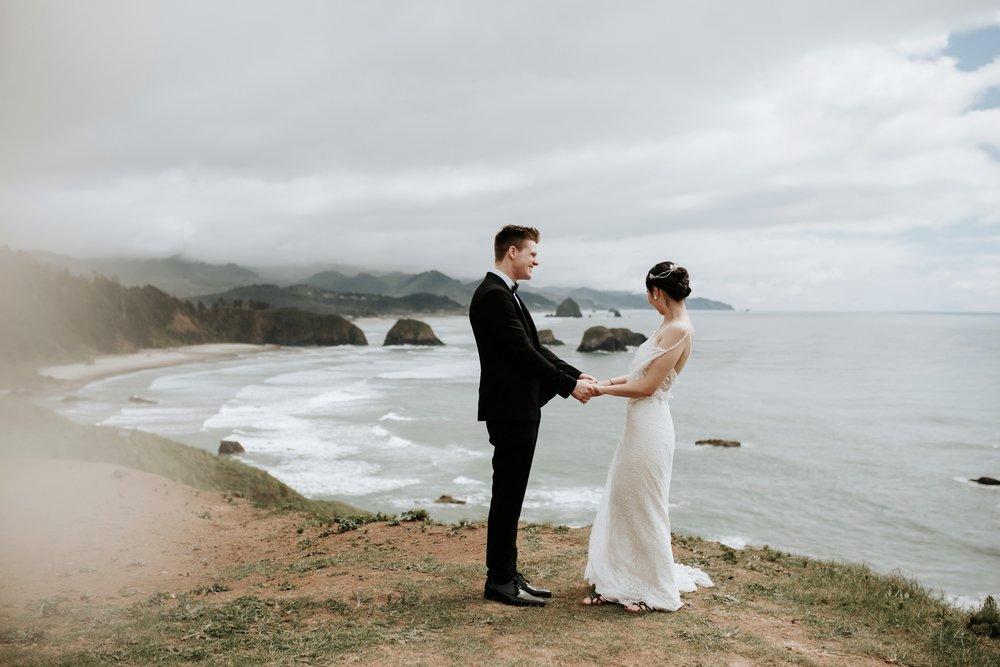 Cannon Beach Elopement- The Stephanie Inn- Oregon The Soft Season