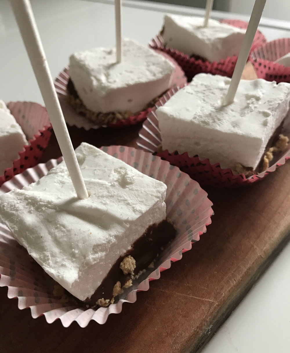 S'mores Pops Recipe