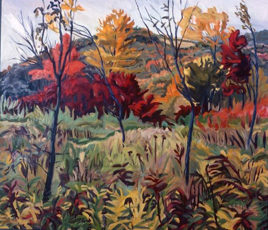 "October Field, 50x60"", unavailable"