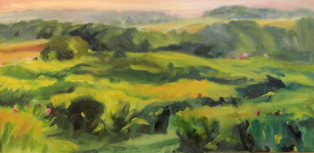 Goldenrod September, 12x24""