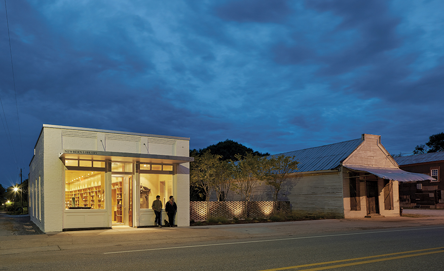 High Design In Small Town America Parlier Crews Architects