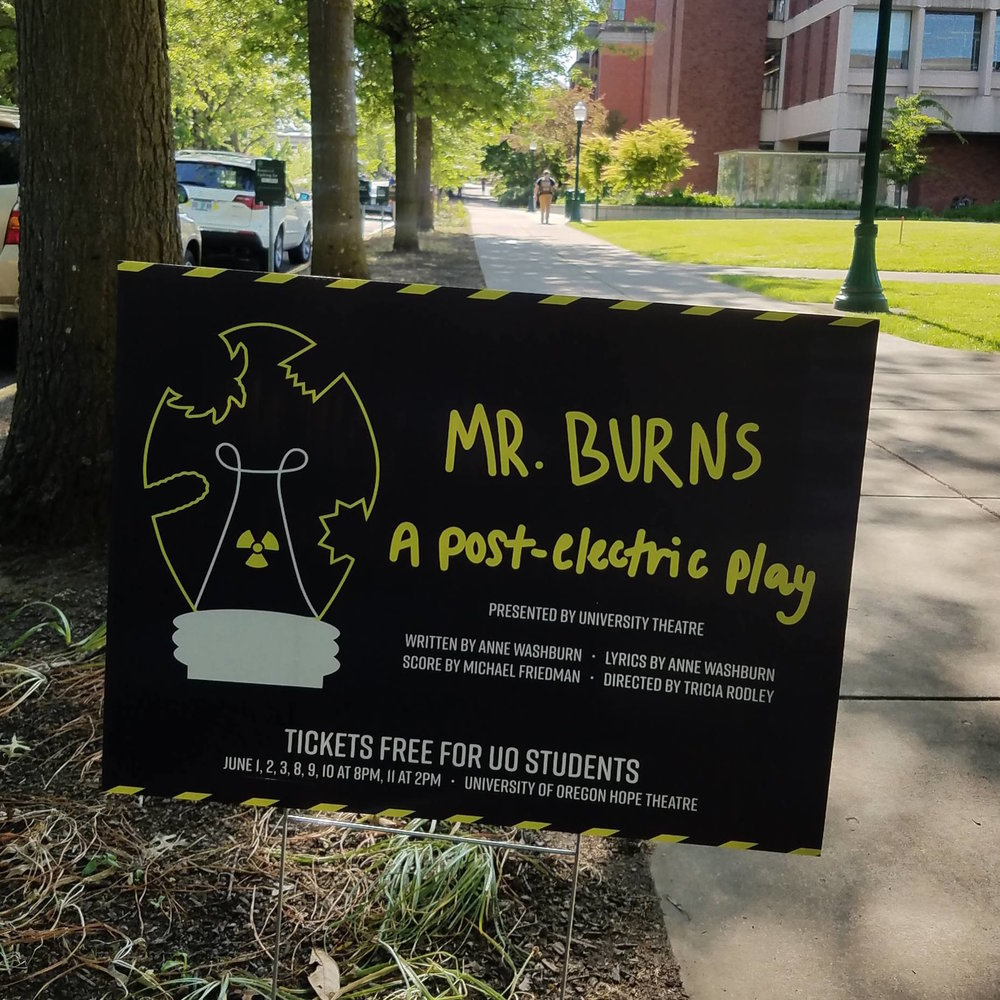 """Lawn Signs"" placed around campus"