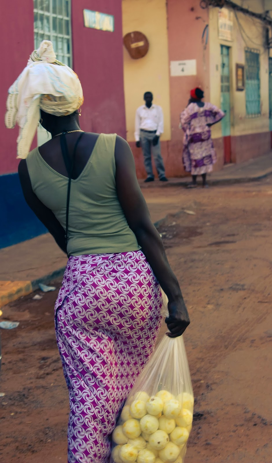 Woman in Bissau