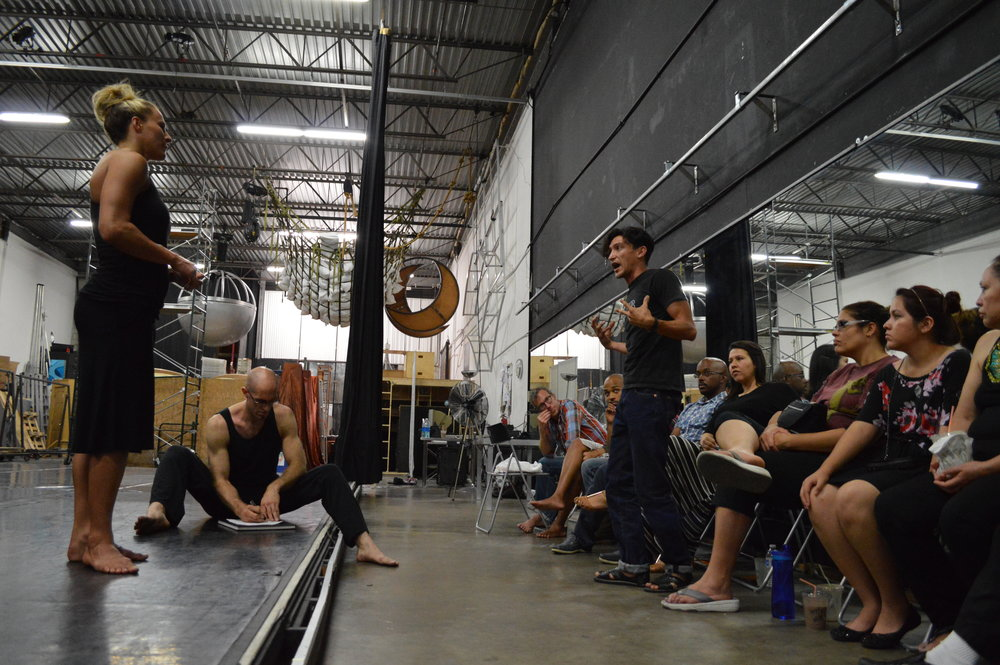PERFORMANCE LAB and Workshop - An informal opportunity for artists of all genre to present their work and get feedback from other artists and participants.