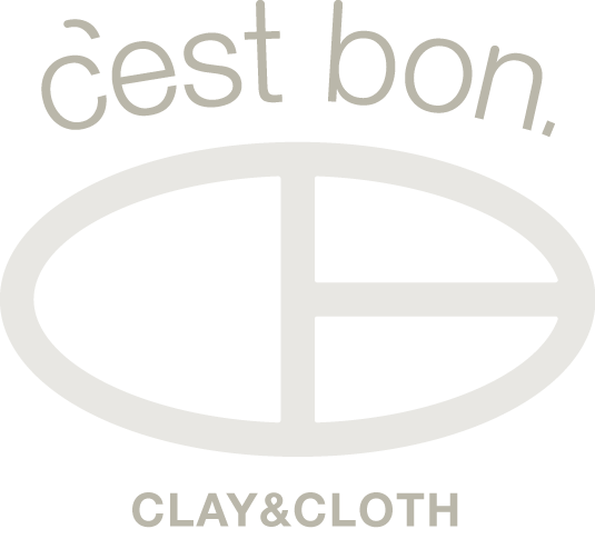 c'est bon . clay & cloth