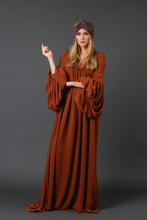 0d0bd00cf7d32 The Stardust jennafergrace handmade Dress with Bell Sleeves madeinusa  californiaclothingline ...