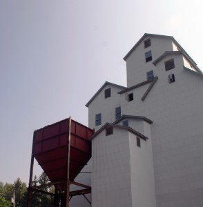 Image of Grain Elevators at the Wassaic Project in Wassaic, NY.  Image from Wassaic's website!