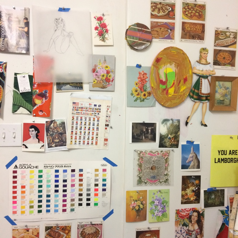 Kirstin Lamb Studio Wall at Bunker Projects 2015.jpg