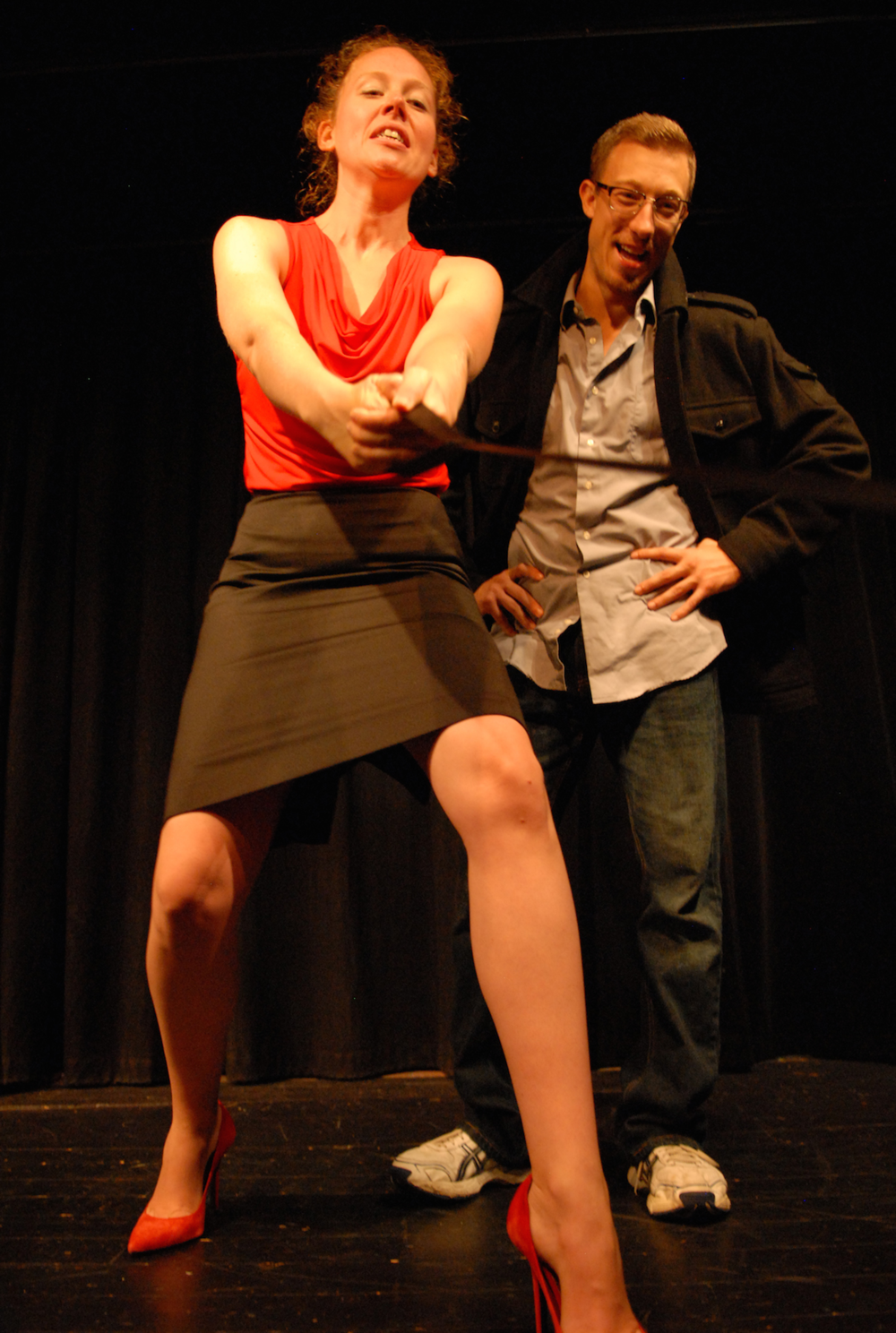 Anna Botsford as Mia; Elliot Sicard as Mike