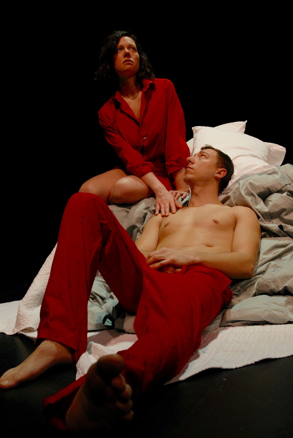 Anna Botsford as Lisa and Elliot Sicard as Will.  View the Unsafe gallery >