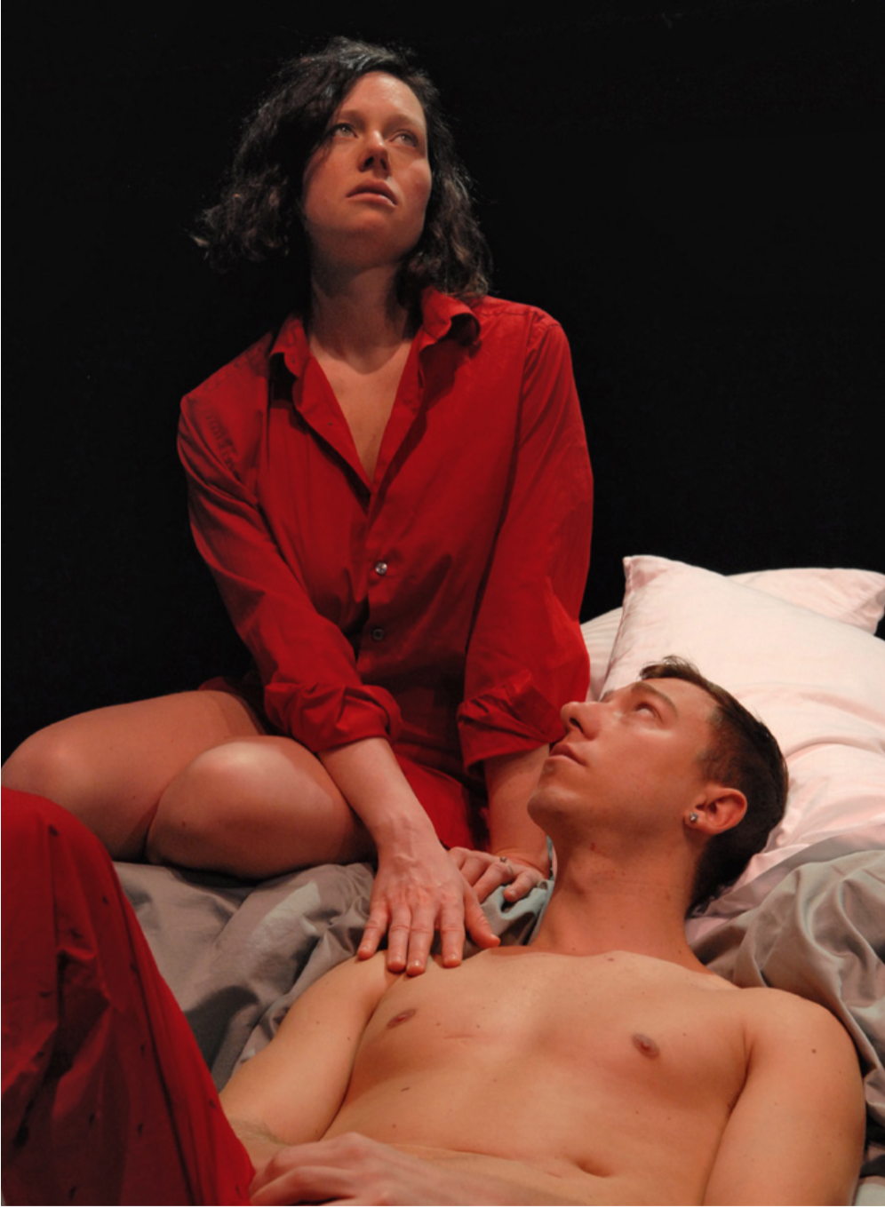 Anna Bottsford and Elliot Sicard in Unsafe