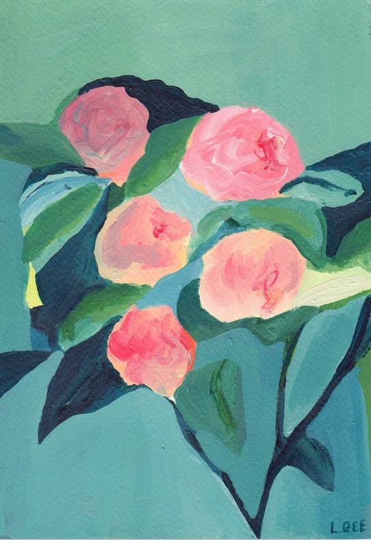 'The Rose Bush' SOLD