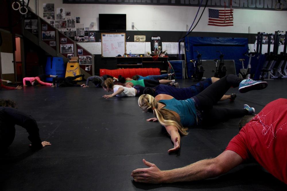 Class stretch