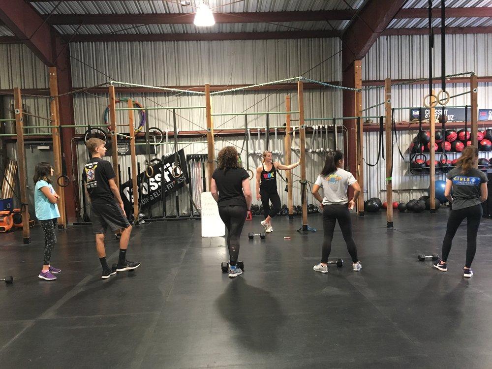 Coach Cara and CrossFit Teens