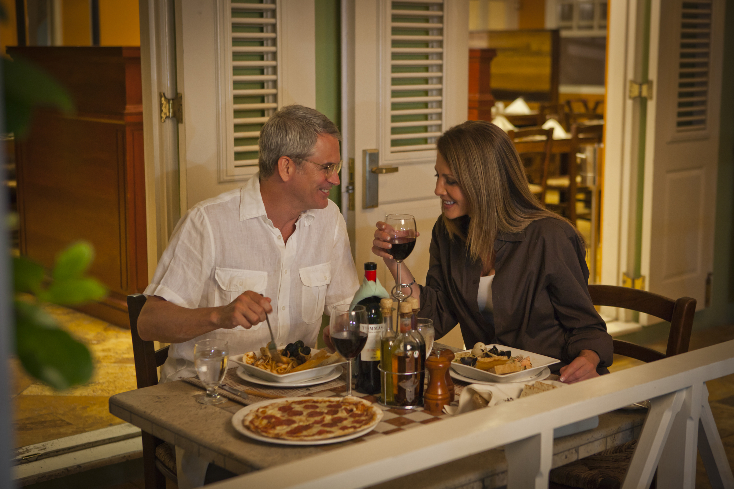 At the heart of The Crane Village, award-winning D'Onofrio's Trattoria is a special treat.