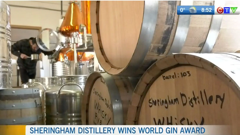 See Jason and Alayne Mac Isaac, featured on BC CTV News, after their big win at the 2019 World Gin Awards.  WATCH NOW >