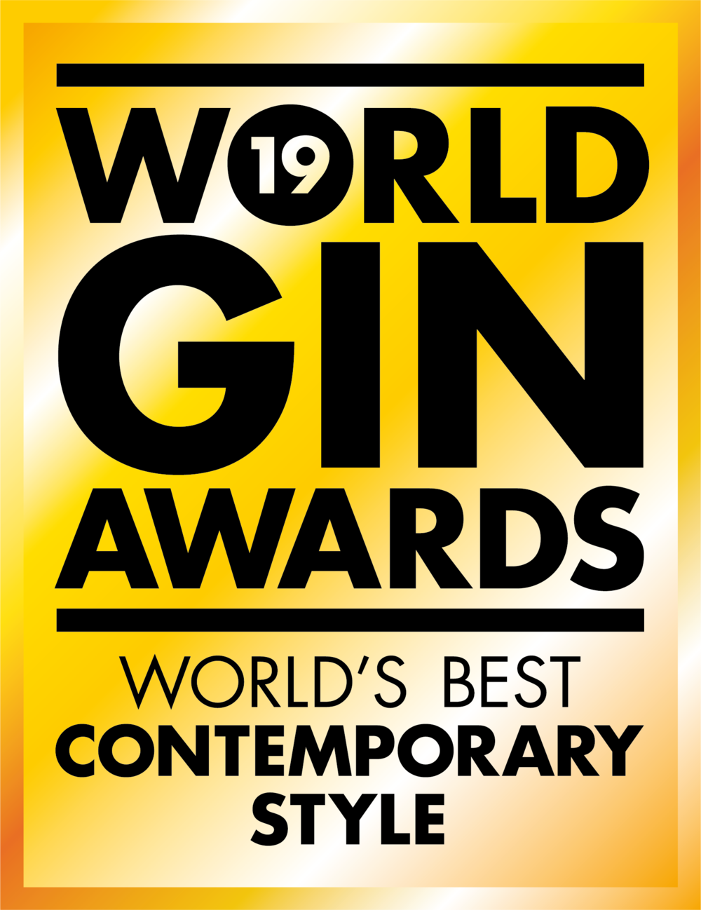 WORLD'S BEST CONTEMPORARY STYLE - World Gin Awards, 2019
