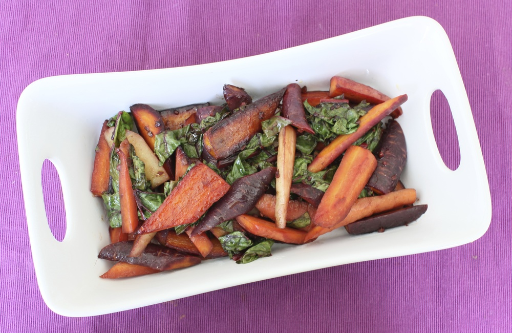 Balsamic-glazed-carrots