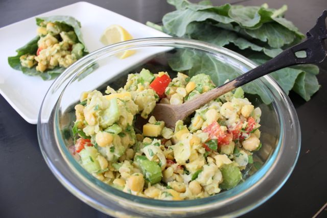 Chickpea salad featured image