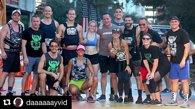 #GymPoster • #Repost @daaaaaayvid ・・・ Great @cfconquesteast group for the @tunnel2towers #fortlauderdale 5K run. Thanks for the photo @sunsentinel #EastAF