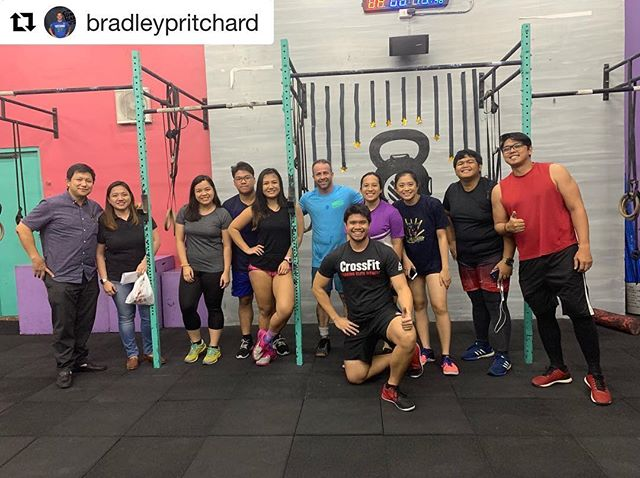 #Worldwide • 💪🏼👊🏼🔥 • #Repost @bradleypritchard ・・・ Finally I get a workout in. Fantastic crew at @cfbaymariners Thanks @spidermer and @trishespiritu for having me in to play. #swiftiron #travelwod #wodallovertheworld @comptrainmasters @cfconquesteast #thrillainmanila