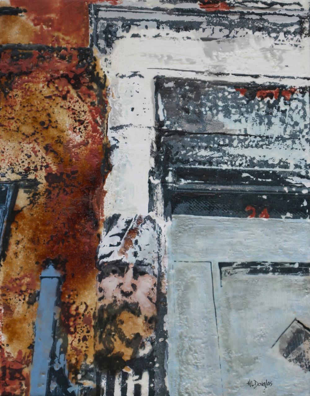 East harlem doorman by Heather Leigh Douglas