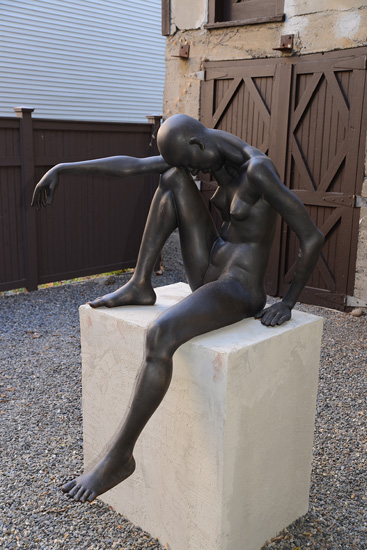 Untitled bronze by Jan abt