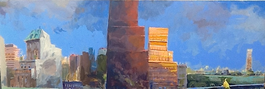 Buildings on Fifth BY JOHN DEVANEY